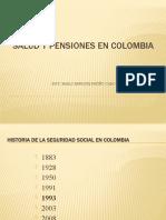 SALUD Y PENSIONES EN COLOMBIA 1