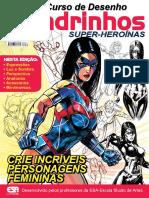 Guia Curso Básico de Desenho-Quadrinhos Super-Heroínas