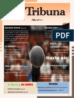 La Tribuna , la revista de opinion . Abril 2011 . ( pdf )