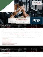 Muskelaufbau Ernaehrung
