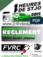 reglement 24H 2011