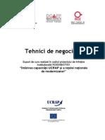 brosura tehnici de negociere