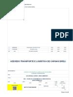 PAE AZEVEDO TRANSPORTES