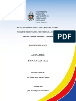 Física Cuántica Documento de Apoyo