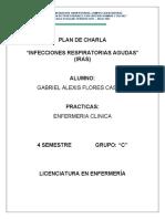 PLAN DE CHARLA INFECCIONES RESPIRATORIAS AGUDAS