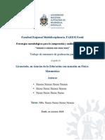 2020 Formato de Seminario de Graduación