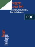 [Heidegger Forum] Tobias Keiling - Heideggers Marburger Zeit_ Themen, Argumente, Konstellationen (2013, Vittorio Klostermann) - Libgen.lc