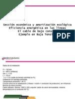 Prysmian Sección económica y ecológica BT (90 ºC)