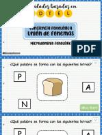 4. Union de fonemas