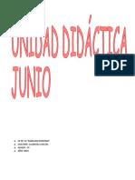 Unidades Didácticas Junio