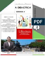GUIA DIDÁCTICA MATEMÁTICA BASICA SEMANA 4