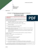 CRITERIOS PARA EVALUAR FUENTES DE INFORMACIÓN-Equipo7