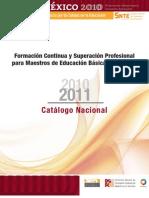 Catálogo Nacional 2010-11