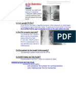 Chest Radiology for Dummies