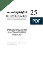 EPIDEMIOLOGIA DE SUSTANCIAS PSICOACTIVAS - ENCUESTAS NACIONALES