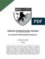 DERECHO INTERNACIONAL PRIVADO, PRIMERA PARTE (1)