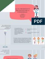 Salud, Promoción y Prevención de la enfermedad