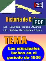 Clase 20 - Luchas de 1930 a 1935-1