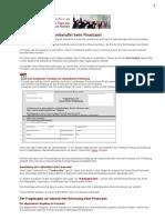 Anmeldung-Finanzamt