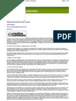 Creative Commons licencias