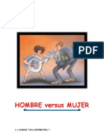 HOMBRE VERSUS MUJER