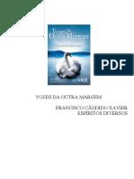 VOZES DA OUTRA MARGEM (Chico Xavier - Espíritos Diversos)