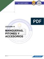 MP - LECCIÓN 14 -  MANGUERAS, PITONES Y ACCESORIOS - MP - 2021