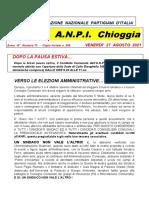 Notiziario ANPI Chioggia, numero 71