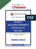 MARCOMACROECONÓMICOMULTIANUAL2022-2025