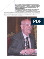 Disertación del Maestro Rural Miguel Soler Roca en el Paraninfo de la Universidad del Uruguay