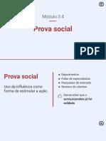 3.4 Prova social