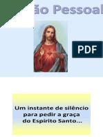 Oração Pessoal Agosto e Setembro 2021