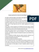 Oração de São Miguel Arcanjo PDF