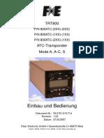 TRT 800 4 Dk Deutsch