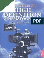 HD Cinematography - Paul Wheeler