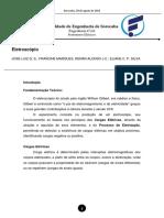 Primeiro Relatório - Fenômenos Elétricos P01