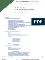Apuntes de termodinámica elemental. E. Barrull, 1994