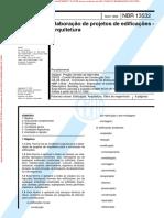 ABNT NBR 13532_1995 - Elaboração de Projetos de Edificações