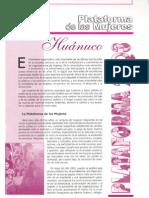 Plataforma de Mujeres de Osb 2003 Huanuco