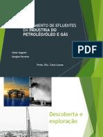 Apresentação Efluentes de Petróleo