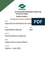 Transductores de otras variables físicas