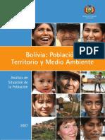 Bolivia Analisis de Situacion de La Poblacion