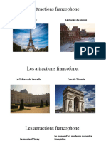 Les attractions francophone