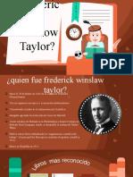 TAYLOR FREDERICK