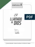 Clase 1-El Llamado de Dios -Esc m, 2021