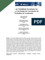 análise viabilidade econômica