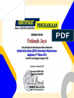 Patimah Jaya (Sertifkat PL dan UMKM KKN47)