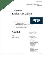 Evaluación Clase 7