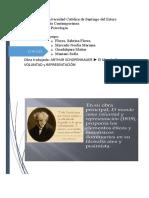 ARTHUR SCHOPENHAUER (resumen) EL MUNDO COMO VOLUNTAD Y REPRESENTACION (1)