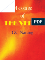 GC Narang - Message of the Vedas